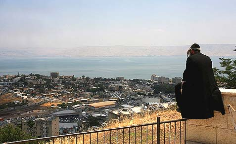 Tiberias and the Kinneret.