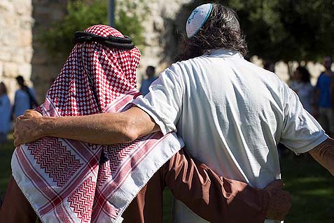 Hugging Jerusalem