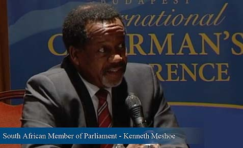 MP Kenneth Meshoe