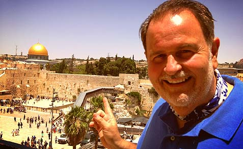 Raul De Molina in Israel