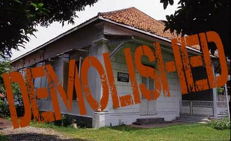 Surabaya Synagogue, the last shul on Java, Indonesia, was demolished in May, 2013