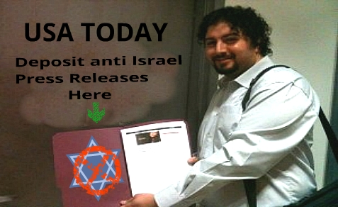 Andrew Kadi delivered the Boycott Israel petition to Keys, maybe this was his next stop.