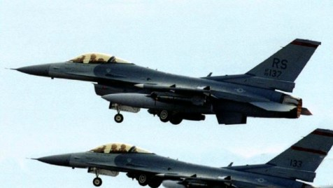 American F-16 fighter jets