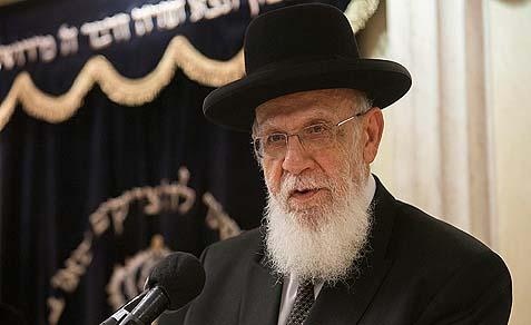 Rabbi Shalom Cohen of the Shas Party Council of Torah Sages, called the knitted yarmulke Israelis 'Amalek.'