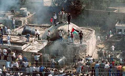 The Palestinians have desecrated Joseph's Tomb on more than one occasion.