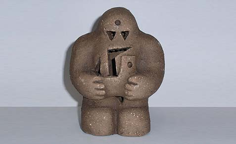 Reproduction of the Prague Golem.