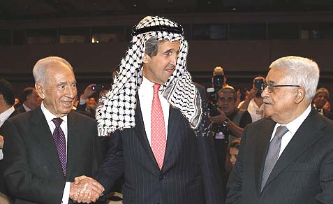 """Kerry, who a few weeks ago referred to the Palestinian Authority as a """"country,"""" prejudices Israel's position and stays mum while the PA breaks his ground rules for """"secret talks."""""""