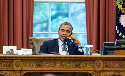 President Barack Obama appealed for calm on Sunday, following the Zimmerman acquittal.
