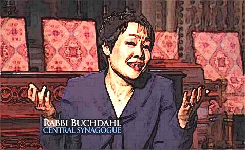 Angela Buchdahl was born to an Ashkenazi, Reform Jewish father and a Korean Buddhist mother, yet on her path to the rabbinate did not take the time to convert to Judaism.