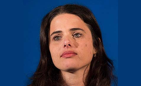Ayelet Shaked, Chair of the Jewish Home Knesset faction is accusing Secretary of State Kerry in a letter of foolishly putting Israel in an impossible situation.