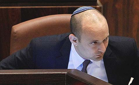 Jewish Home Minister Naftali Bennett thinks he scored a victory with the new Referendum bill. The reality is that he just abandoned his thousands of voters east of the green line.