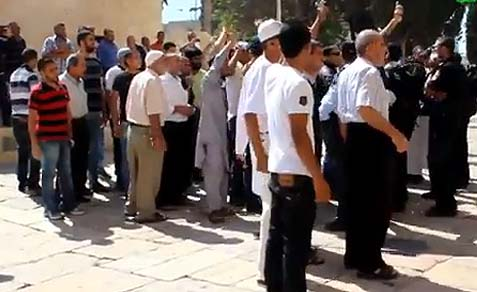 Moslem Hatred on the Temple Mount