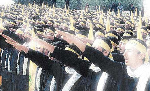 The Muslim Brotherhood at a rally.