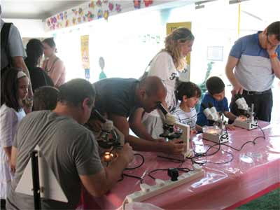 Israeli scientists are cultivated at young ages by Technoda. (Photo: Technoda)