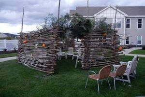 Sukkah in Queensbury, New York assisted living facility shares top ranking in 'Sukkathon'