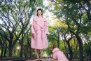 This winter we will see a lot of winter coats in pastel pink, blue, beige and yellow.