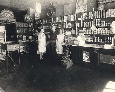 The Modelevsky Grocery store