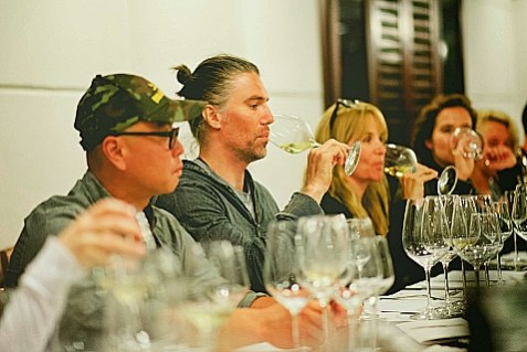 C.S. Lee, Anson Mount IV, Lea Thompson and Zoey Deutch were among the film and television stars checking out the wine in Israel this week, courtesy of American Voices in Israel