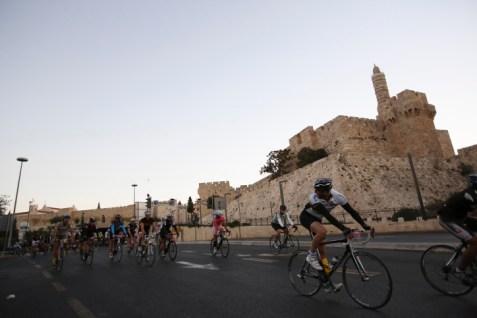 JERUSALEM BICYCLE RACE