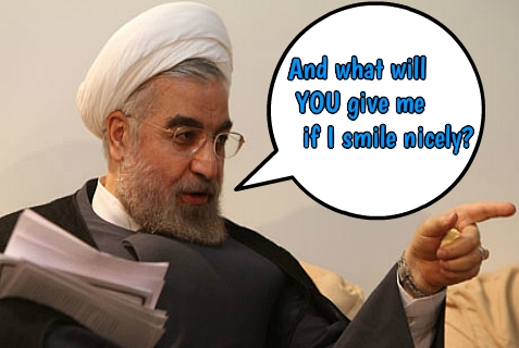 "Iran's new president, Hassan Rouhani, master of the ""Charm Offensive"""