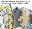 Arafat and Abbas; Mirror Images