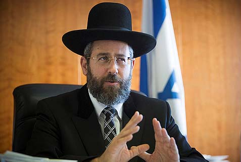 Ashkenazi Chief Rabbi David Lau