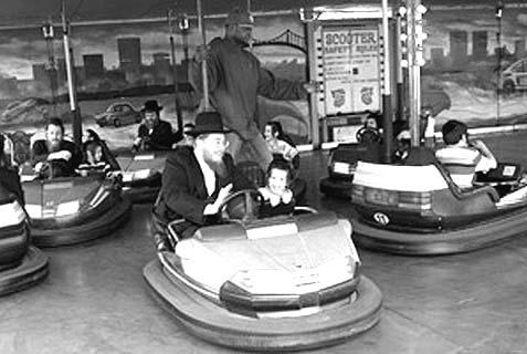 coney island bumper cars