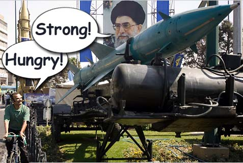 iran strong and hungry