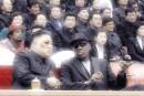 Kim Jong Un (L) with Dennis Rodman (R)