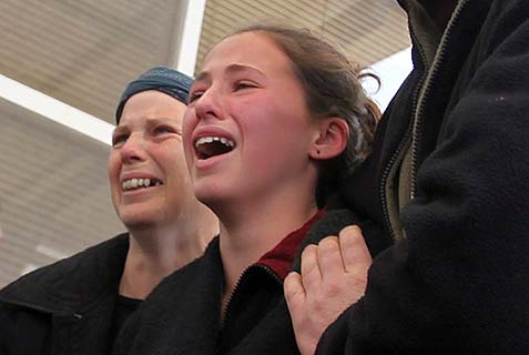 Three years ago, young Tamar Fogel discovered that Palestinian terrorists had murdered her mother, father, and two brothers.