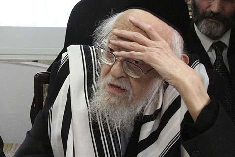 Rav Yosef Shalom Elyashiv, ZTL