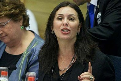 "Likud MK Miri Regev (R), Chair of the Interior Affairs committee, has just jumped over the first hurdle on her path to annexing the Jordan Valley. This may turn out to be the move that killed the ""peace"" negotiations."