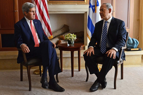Secretary of State Kerry and Prime Minister Netanyahu