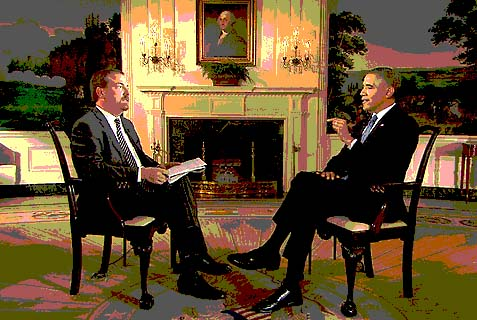 NBC White House correspondent Chuck Todd with the president. NBC News and MSNBC have become the same in house channel for Obama as Fox News used to be for the GW Bush Administration.