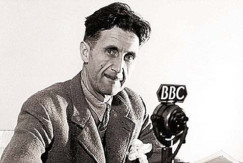George Orwell was an anti-radical, anti-totalitarian socialist who admired the United States.