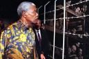 Nelson Mandela at Yad Vashem