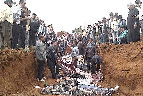 Victims of Syria's civil war. Israel must take new precautions.