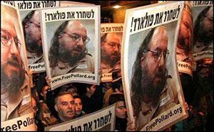 A recent demonstration for Pollard's release