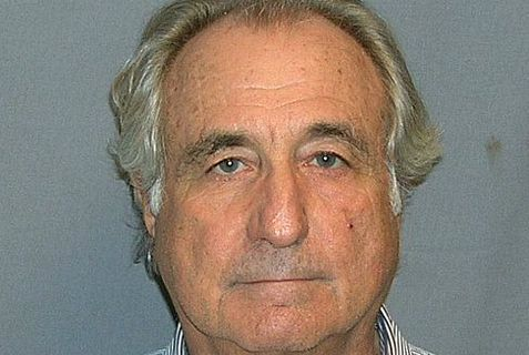 Beranrd Madoff is bringing the federal prison system five new residents.