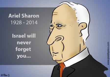 ariel sharon death