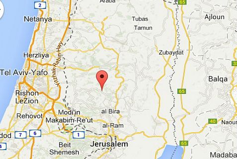 The Palestinian Authority terrorist opened fire on soldiers near the community of Ateret.