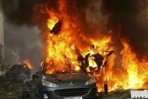 Hezbollah gets a taste of its own medicine with the second suicide car \bomb attack in a week in its stronghold in Beirut, by ISIS.
