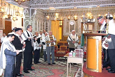 Jews, at the request of King Mohammed VI, prayed for rain this past Shabbat.