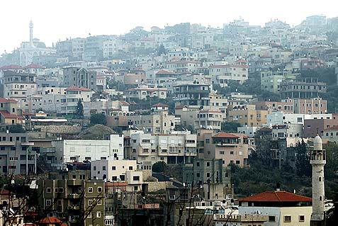 Israel's largest Arab city Umm El-Fahm.