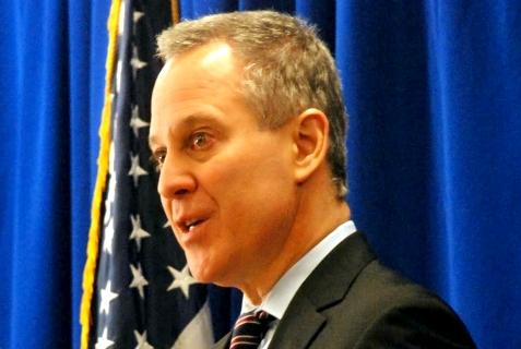 New York State Attorney General Eric T. Schneiderman