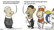 Obama Bedelia