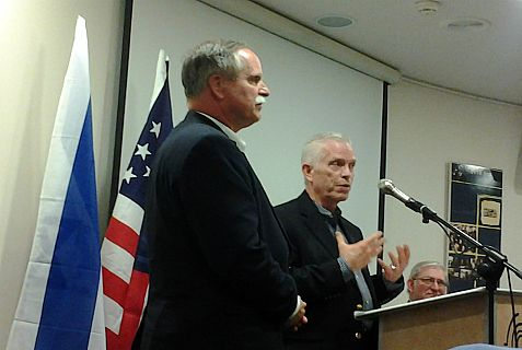 "Congressmen McKinley and Johnson bring the ""Town Meeting"" to Israel"
