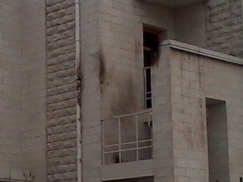 Arsonists attacked a synagogue in war-torn Ukraine Saturday night.