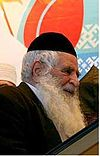 Rabbi Yosef Hamadani. Chief Rabbi of Iran.