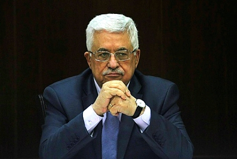 Palestinian Authority Chairman Mahmoud Abbas.